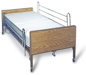 Picture of Telescoping Bed Rails, Chrome Plated Steel