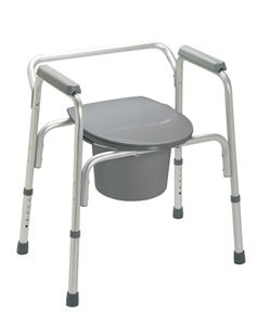 Picture of Commode  3 In 1 Alum Folding