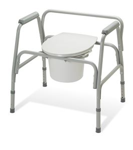 Picture of Commode  Ez-Care Xtra Wide