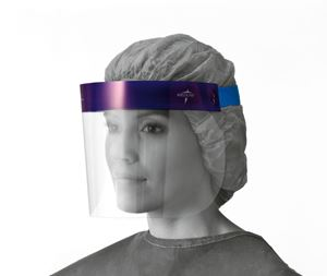Picture of Face Shield  3 -4  Elastic  Foam Top  Lf