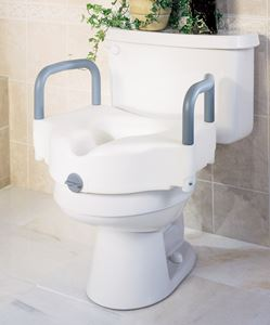 Picture of Toilet Seat  Raised  Locking