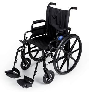 "Picture of Wheelchair K4 18"" S -B  Dla Sa  Foot"