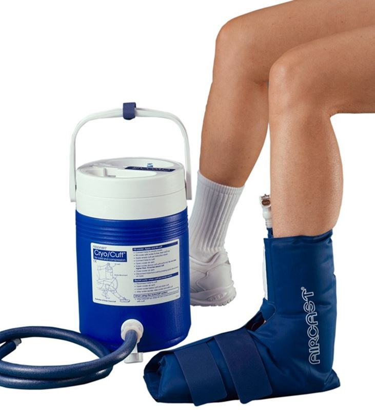 Picture of Aircast Ankle Cryo/Cuff with Cooler (Motorized Kit)