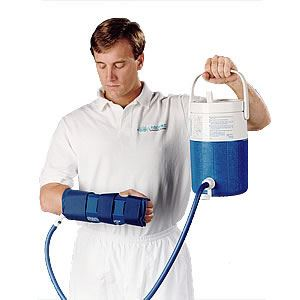 Picture of Aircast Cryo/Cuff For Hand and Wrist with Cooler (Non Motorized  Kit