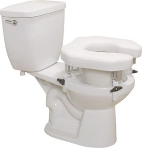 "Picture of Raised Toilet Seat Padded ""U"" Clamp, 1 c/s, RTL ** DIS CONTINUED **"