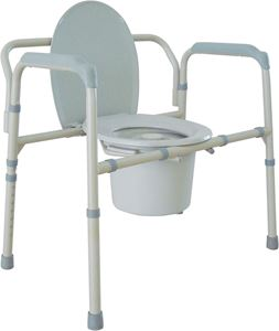 Picture of Bariatric Folding Commode, Deep Seat 1 c/s