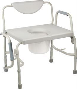 Picture of Bariatric Drop-Arm Commode