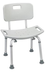 Picture of Bath Seat with Back, Knocked Down, 1 c/s