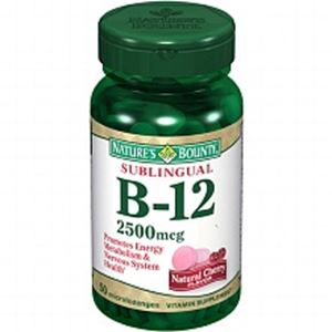 Picture of Nature'S Bounty B12 2500Mcg