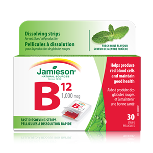 Picture of Vitamin B12 Quick Dissolving Strips Jamieson'S