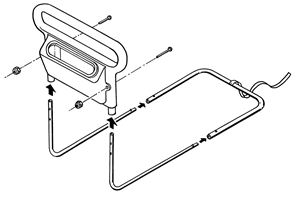 Picture of AbleRise™ Bed Rail, Single