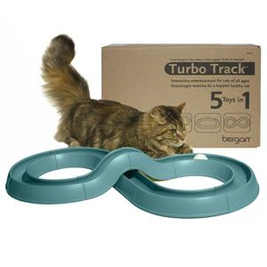 Picture of Bergan Turbo Track Cat Toy Green