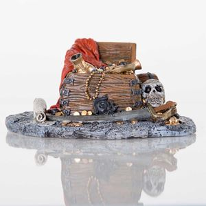 "Picture of BioBubble Decorative Pirate Treasure 7.5"" x 6"" x 3.75"""