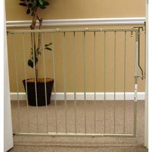 "Picture of Cardinal Gates Duragate Hardware Mounted Dog Gate Taupe 26.5"" - 41.5"" x 29.5"""