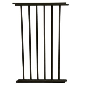 "Picture of Cardinal Gates VersaGate Hardware Mounted Pet Gate Extension Black 20"" x 30.5"""