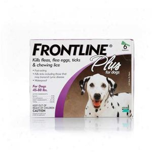 Picture of Frontline Plus for Large Dogs  45-88 lbs 6 Pack