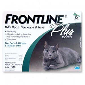 Picture of Frontline Plus For Cats 6 Month Supply