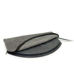 Picture of K&H Pet Products Deluxe Igloo Style Heated Pad Cover Small Gray