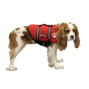 Picture of Paws Aboard Dog Life Jacket Extra Large Red