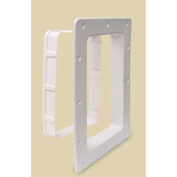 Petsafe smartdoor wall entry kit large white 2817quot x 20 for Smart dog door for wall