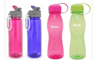 Picture of 22oz Tritan Bottle with Spout - Pink