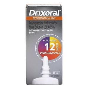 Picture of Drixoral Decongestant Nasal Pump