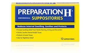 Picture of Preparation H Suppositories with Bio-Dyne