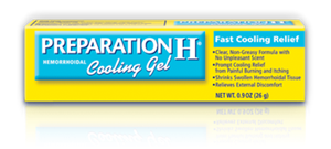 Picture of Preparation H Cooling Gel