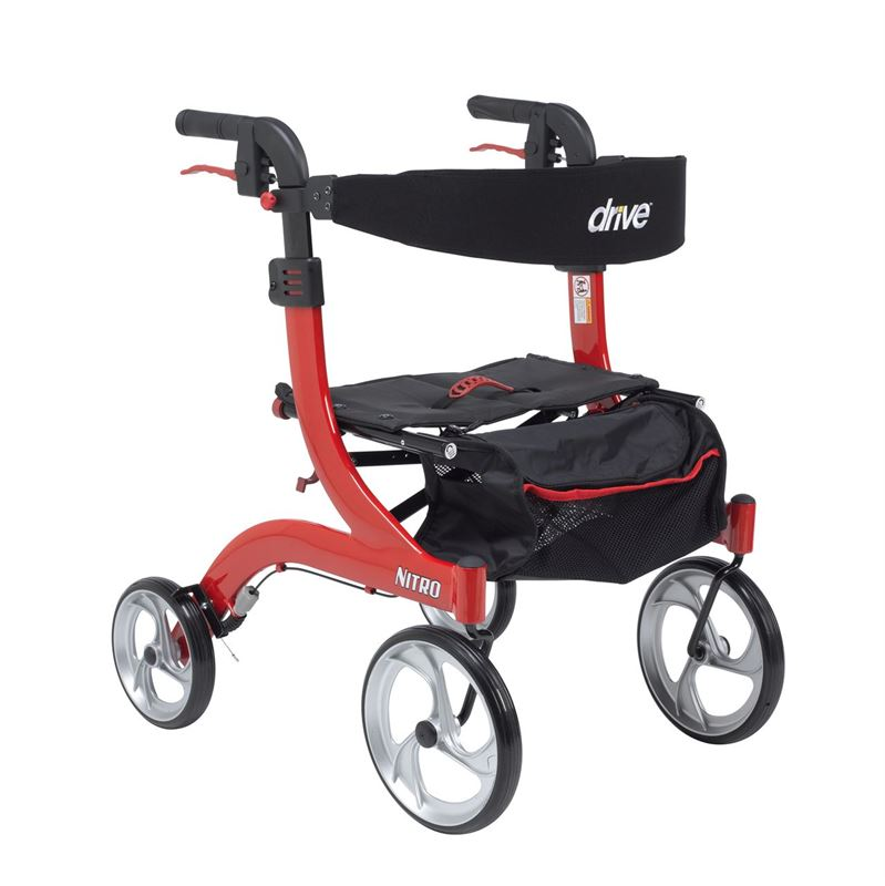 Picture of Nitro Aluminium Rollator (Hemi Height)