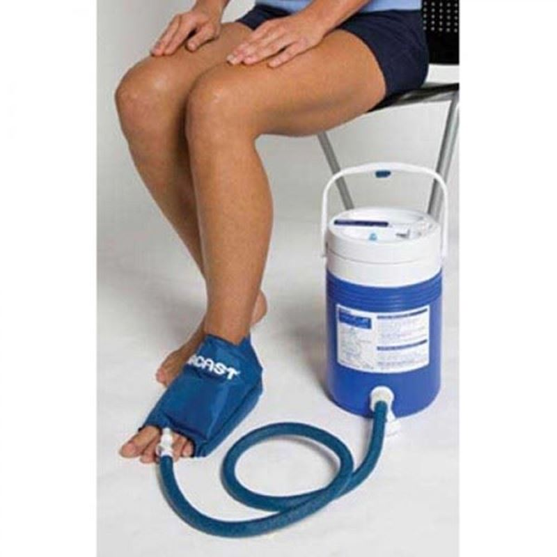 Picture of Aircast Foot Cryo/Cuff with Cooler (Motorized Kit)