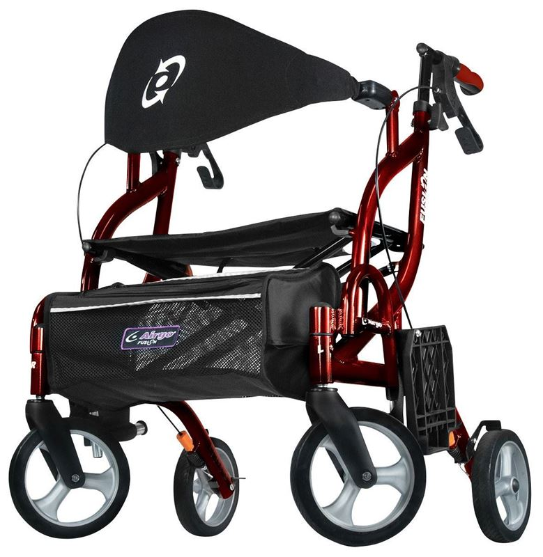 Picture of Airgo Fusion F18 Side Folding Rollator and Transport Chair