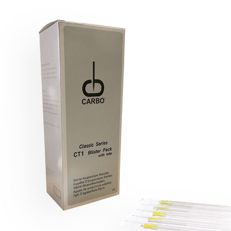 Picture of Carbo Long Acupuncture Needles .35 x 125 mm