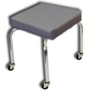 Picture of Mobile Treatment Stool - Metal Wheels