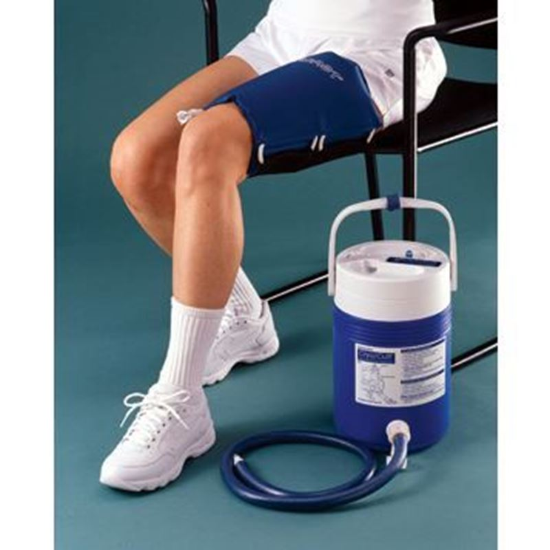 Picture of Aircast Thigh Cryo Cuff with IC Cooler (Motorized)