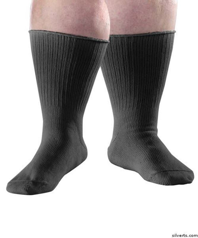 Picture of Extra Wide Diabetic/Edema Socks - Swollen Feet Stretch Care