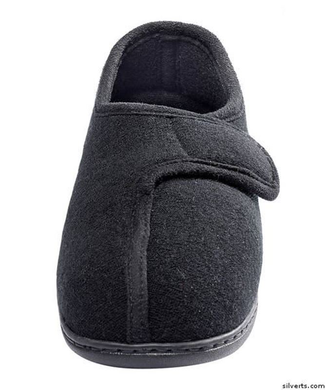 Picture of Womens Adaptive Arthritis Easy Closure Terry Cloth Slippers