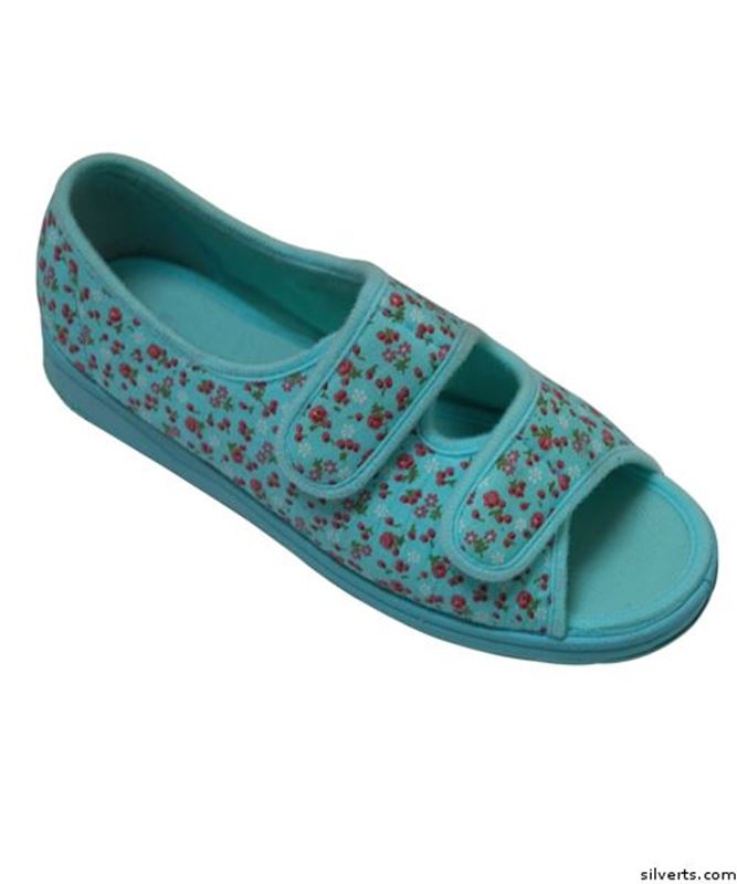 Picture of Womens Wide Sandals With Adjustable Straps Brand