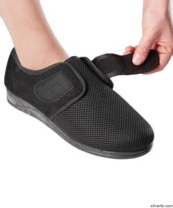 Picture of Womens Size 12 Comfortable Indoor/outdoor Shoe Slippers With Adjustable Closures