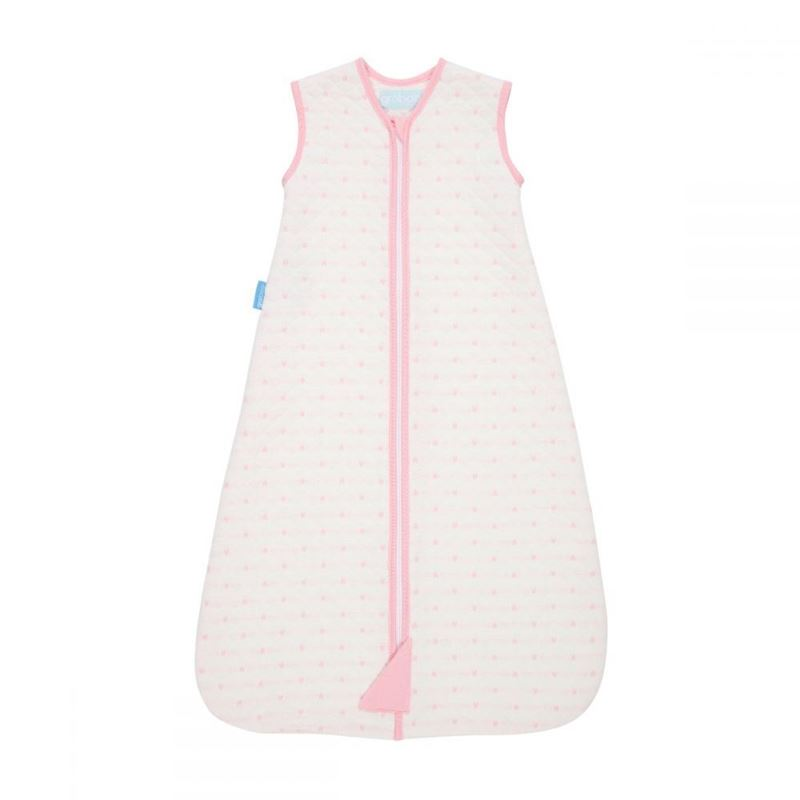 Picture of GROSUITS - Sleeper with quilted sleeves  Pink Hearts