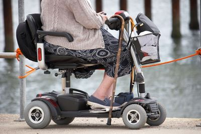Mobility Scooters- Technology innovation to keep 60+ population mobile